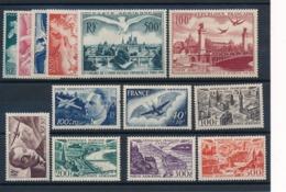 DD-127: FRANCE: Lot Avec PA*  N°16 à 28 - 1927-1959 Nuovi