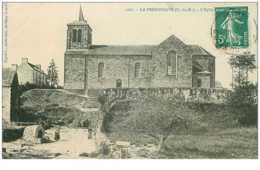 22 .n°37716.la Prenessaye.l Eglise - France