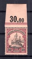 DSWA 18 OR OBERRAND  ** POSTFRISCH (B5707 - Kolonie: Deutsch-Südwestafrika
