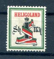 Helgoland 10Ac Sauber * MH 100EUR (B9952 - Héligoland