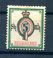 Helgoland 20 Sauber * MH 180EUR (B9951 - Héligoland