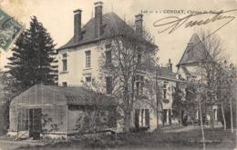 CPA 46 CONDAT CHATEAU DE BALAGER - Francia