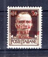 Kotor 4 LUXUS ** POSTFRISCH 140EUR (B7968 - Besetzungen 1938-45