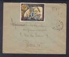 France Lettre 173e R. Inf. - Poststempel (Briefe)