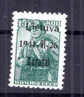 Litauen ZARASAI 3aIII Tadellos ** POSTFRISCH 40EUR (B4977 - Occupation 1938-45