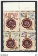 DDR, 1984, Michel-Nr. 2884-2887, **postfrisch - [6] République Démocratique