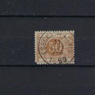 N°TX8 (ntz) GESTEMPELD Essche-St.Lievin 1899 COB € 6,00 + COBA € 11,25 - Taxes