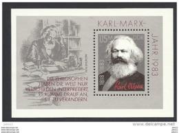 DDR, 1983, Block 71 Michel-Nr. 2789, **postfrisch - [6] République Démocratique