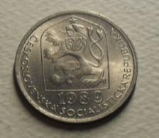 1989 - Tchécoslovaquie - Czechoslovakia - 50 HALERU - KM 89 - Czechoslovakia