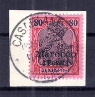 Marokko 15 Herrlich Auf Gest. Luxusbriefst�ck (B7545 - Deutsche Post In Marokko