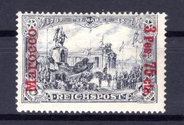 Marokko 18I/II Tadellos * MH 80EUR (B7414 - Deutsche Post In Marokko