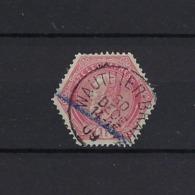 N°TG16 (ntz) ZGESTEMPELD Wauthier-Braine 1909 COBA € 6,00 - Telegraph