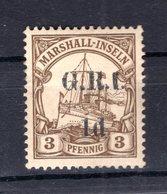Marshall-I. BRITISCH 1I Tadellos * MH 50EUR (B8509 - Colonie: Marshall