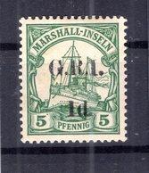 Marshall-I. BRITISCH 2I Tadellos * MH 65EUR (B8501 - Colonie: Marshall