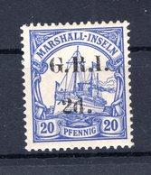 Marshall-I. BRITISCH 4I Tadellos * MH 22EUR (B8504 - Colony: Marshall Islands