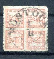Mecklenburg-Schwerin 5 Zarter Bug Gest. 75EUR (B9843 - Mecklenburg-Schwerin