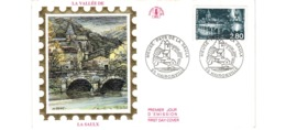 Enveloppe Premier Jour / La Vallée De La Saulx    / Haironville   / 2-7-94 - 1990-1999