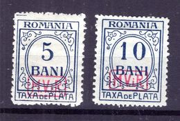 Rumänien PORTO 6+7 Sauber * MH 48EUR (77121 - Besetzungen 1914-18