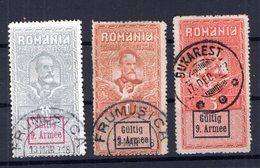Rum�nien KRETA V1II SATZ Gest. 120EUR (B3789 - Besetzungen 1914-18