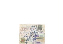 Lettre Pour La Suisse Avec Retour à L'envoyeur Aff Du 15c Semeuse Lignée , Obl Type 01 Asnière Le 18.06.1905 Bien - 1903-60 Semeuse A Righe