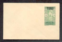 Togo FRANZ�SISCHE NACHFOLGE 5c MiniGA Umschlag (A5171 - Kolonie: Togo