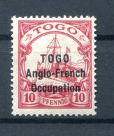 Togo BRITISCH 18 Tadellos * MH 300EUR (B9907 - Colony: Togo