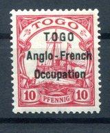 Togo BRITISCH 3I Tadellos * MH BPP 190EUR (H0360 - Kolonie: Togo