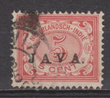 Nr 68 Used JAVA 1908 ; NETHERLANDS INDIES PER PIECE NEDERLANDS INDIE PER STUK - Indes Néerlandaises