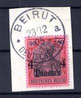 T�rkei 31 Herrlich Auf Gest. Luxusbriefst�ck (B5614 - Deutsche Post In Der Türkei