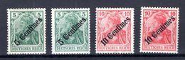 T�rkei 48/49a+b Je Beide Farben * MH (76887 - Kantoren In Het Turkse Rijk