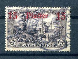 T�rkei 46a Tadellos Gest. BPP 600EUR (B9918 - Deutsche Post In Der Türkei