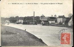 Segré Les Bords De L' Oudon  Vue Générale Du Quartier De Maingue  CPA 1908 - Segre