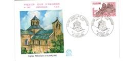 Enveloppe Premier Jour / 1061  / Eglise Abbatiale D'Aubazine  / 18-2-78 - 1970-1979