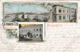 Gruss Aus BUKAREST , Romania , 1898-1907 - Roumanie