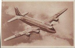C.P.A.  AVIATION    AVION  DOUGLAS  D C 4 En Service Sur Les Lignes AIR FRANCE - Avions
