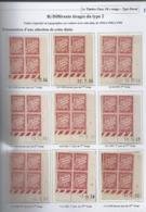 Série De 12 Coins Datés Taxe N°33 : 1934 à 1940 ; 1942 - Dont Derniers Tirages - 1930-1939