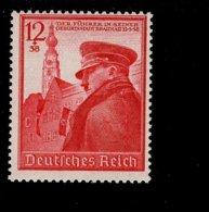 Deutsches Reich 691 A. Hitler  MNH Postfrisch ** Neuf - Deutschland