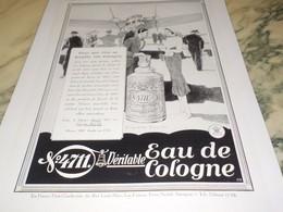 ANCIENNE PUBLICITE VOS VOYAGES  EAU DE COLOGNE 4711 1931 - Parfum & Cosmetica
