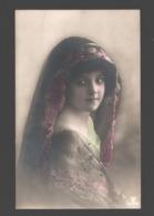Fantasy / Fantaisie / Fantasie Kaart - Girl / Fille / Meisje - Portret / Portrait - Abbildungen
