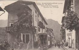 ROQUEBILLIERE TRAM DE LA VESUBIE ENTREE DU VILLAGE TRAMWAY CF BORD GAUCHE - Roquebilliere