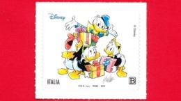 Nuovo - MNH - ITALIA - 2019 - 85 Anni Di Paperino – Fumetto – Disney - Da BF - Paperino E Qui, Quo E Qua - B - 1946-.. République