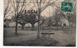 DEPT 33 : édit. A M ; Bourg Sur Gironde Place Du District , Les Vieux Ormes - Frankrijk