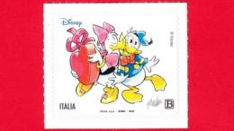 Nuovo - MNH - ITALIA - 2019 - 85 Anni Di Paperino – Fumetto – Disney - Da BF - Paperino E Paperina - B - 6. 1946-.. Republic