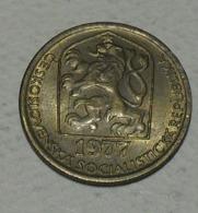 1977 - Tchécoslovaquie - Czechoslovakia - 20 HALERU - KM 74 - Czechoslovakia