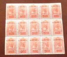 Haute-Volta - 1922 - N°Yv. 32 - Targui 60c - Bloc De 15 - Oblitéré / Used - Oblitérés