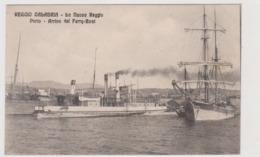 Reggio Calabria, La Nuova Reggio, Porto Arrivo Del Ferry-Boat  - F.p. -  Anni '1908-1910 - Reggio Calabria