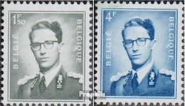 Belgien 973y,975y Postfrisch 1966 Baudouin - Belgique
