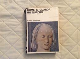 Come Si Guarda Un Quadro M. Marangoni Ed. Vallecchi 1965 - Arte, Architettura
