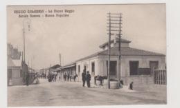 Reggio Calabria, La Nuova Reggio, Strada Scenez - Banca Popolare  - F.p. -  Anni '1908-1910 - Reggio Calabria