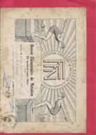 FEDERATION FRANCAISE De NATATION - BREVET ELEMENTAIRE DE NATATION - 25 Metres NAGE LIBRE A Mr BOUTON Le 31 OCT 1951 - Diplomas Y Calificaciones Escolares